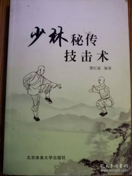 少林秘传技击术