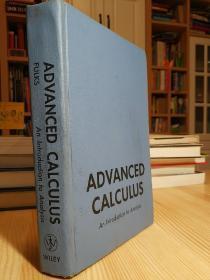 高等微积分 Advanced Calculus : An Introduction to Analysis