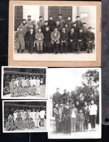 5.60年代著名生物学家教育家夏康农等老照片9张 B1/25