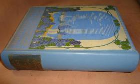 1905年Ella Du Cane _ The Italian Lakes 水彩画绘本《意大利湖泊图志》珍贵初版本 68张绝美彩色插图 手工羊皮书脊