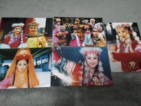 还珠格格剧照6寸照片5张合售,刘丹香妃张铁林赵薇林心如范冰冰苏有朋周杰