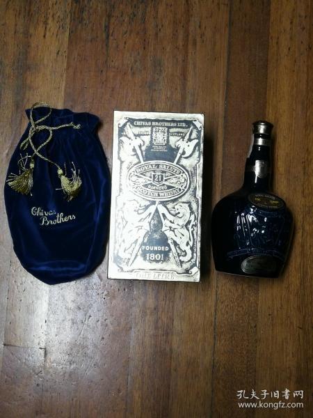 酒瓶收藏:洋酒瓶 ROYAL SALUTE 21 YEAR OLD SCOTCH WHISIKY