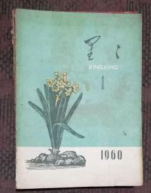 《星星》诗刊 1960年第1---7期 10期 8本合售