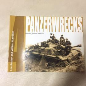 Panzerwrecks 4: German Armour 1944-45 (英语)