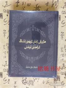 维吾尔语详解词典(精装)