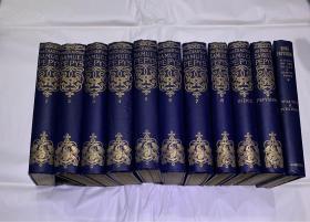 《佩皮斯日记》(精装11册,伦敦1928年,私藏品好)