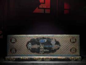 漆器 木胎漆器大画盒 B