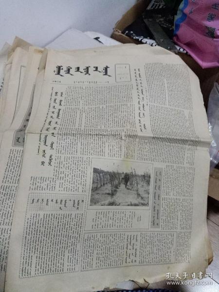 1993年蒙文版赤峰日报(13张合售)