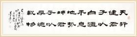 【保真】知名书法家杨向道(道不远人)精品力作:《易经》名句