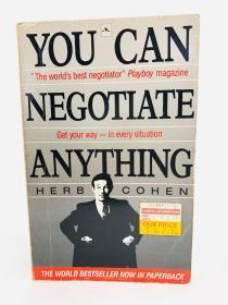 You Can Negotiate Anything 英文原版-《万事皆可谈》(谈判无处不在)