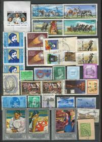 匈牙利 西班牙等 信销邮票 34枚 X292