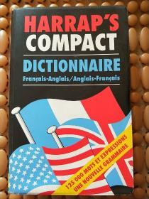 Harrap`s COMPACT DICTIONNAIRE  哈拉普的紧凑词典  (法文原版)实物拍照  请看图