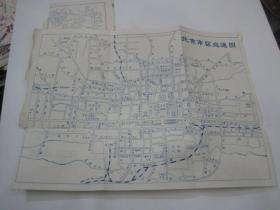 北京市区交通图 反面上海市区交通简图