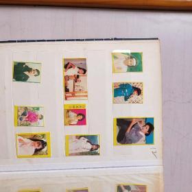 小时收藏的名星粘贴照等(9张)(翁美玪等)【据图自鉴】【灯下夹本拍摄 自编12】