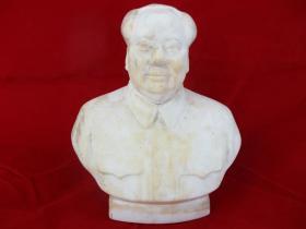 文革山东21公分毛主席瓷像