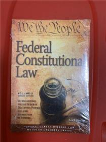 Federal Constitutional Law: Introduction to the Federal Executive Power & the Separation of Powers Issues