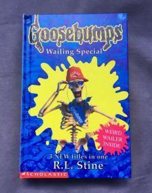 精装Goosebumps Wailing Special: 3 New Titles in One