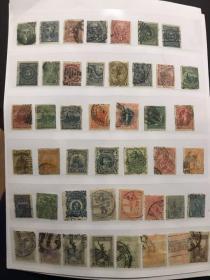古典邮票乌拉圭160多张不同