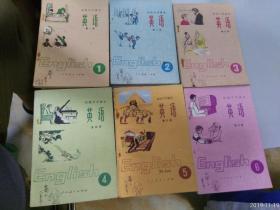 初级中学课本英语全六册合售.