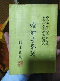 螳螂手拳谱