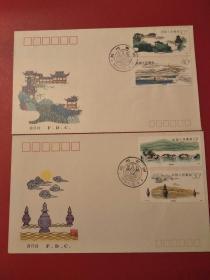 T144西湖邮票首日封