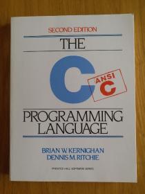 The  C Programming Language:-