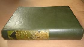 1885 年Jonathan Swift _ Gullivers Travels《格列佛游记》经典全插图初版本 300桢精美木刻插图 手工羊皮装桢 增补Arthur Rackham彩图
