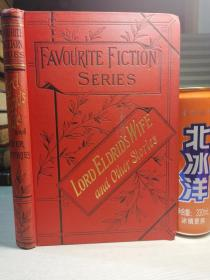 FAVOURITE FICTION SERIES  LORD ELDRIDS WIFE AND OTHER STORIES   三书口花纹