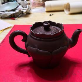民国金鼎商标紫砂壶。