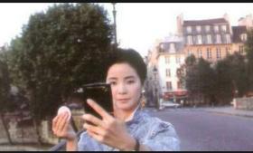 邓丽君上世纪八十年代巴黎精美照片8张5吋的hw