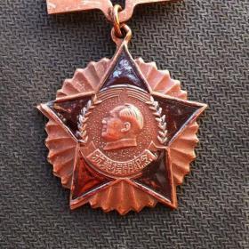 抗美援朝纪念章像章徽章