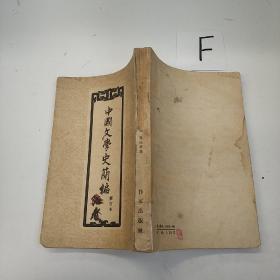 中国文学史简编 修订本