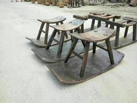 民俗老物件,插秧翘翘凳,单个售价260元