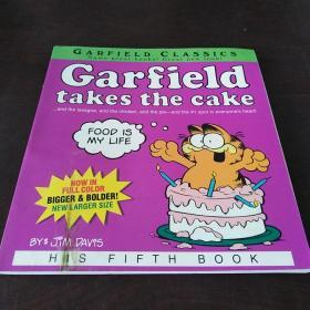 Garfield Takes the Cake: His 5th Book (Garfield Series)(英文原版)