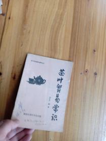 茶叶贸易常识