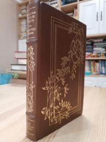 William Butler Yeats: Selected Poems . Franklin Library 1979年限量版叶芝诗选,真皮精装,三面刷金