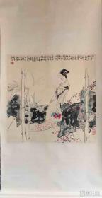 王西京 纯手绘 国画【卖家包邮】 工艺品