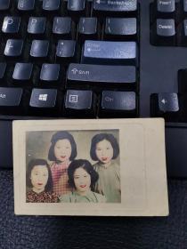 民国四美女照片