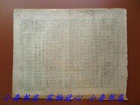 广西合浦老作家、《诗刊》第一编辑室主任 白原(1914-?)五十年代信札一页(收信人老诗人徐放,当时他们同在人民日报工作)276