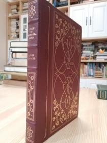 Alices Adventures in Wonderland  Franklin Library 爱丽丝梦游仙境,1980年版,精美装订,三面刷金,竹节书脊