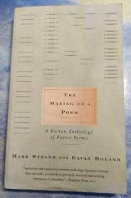 The Making of a Poem:A Norton Anthology of Poetic Forms(实物图)