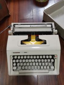 DIASISTER 2000打字机,品佳没有使用过