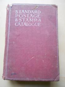 1937年美国英文版【世界邮票图录】精装本,老厚一本,有中国邮票