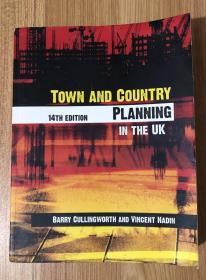 Town and Country Planning in the UK, 14th Edition 英国城乡规划(第14版)0-415-35810-8