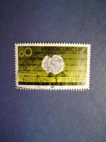 外国邮票 德国邮票 1983年反抗纳粹迫害与抵抗运动 ( 信销票  )