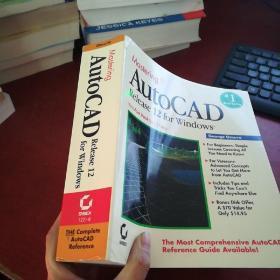 Mastering AutoCAD Release 12 for Windows《详情看图》书边写有数字 看图