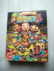 游戏光盘 富甲天下4 2CD+用户手册