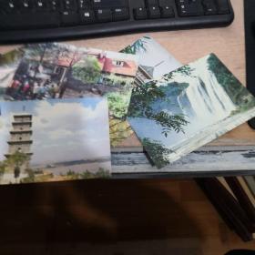 明信片:10张合售,实物图品如图。    101-5号柜