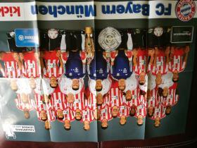 KICK原版2010-11赛季拜仁,不莱梅,沙尔克04双面大海报