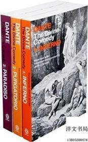 【包邮】2010年出版Dantes Divine Comedy Set;作者Dante Alighieri and John D. Sinclair